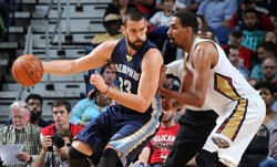 Marc Gasol frega el 'triple-doble' abans de l'All-Star (MEMPHIS GRIZZLIES)