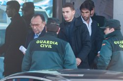 Lucas Hernández serà jutjat el dia del Leverkusen-Atlètic per presumpta agressió a la seva parella (LUCAS HERNÁNDEZ/ JOSÉ OLIVA)