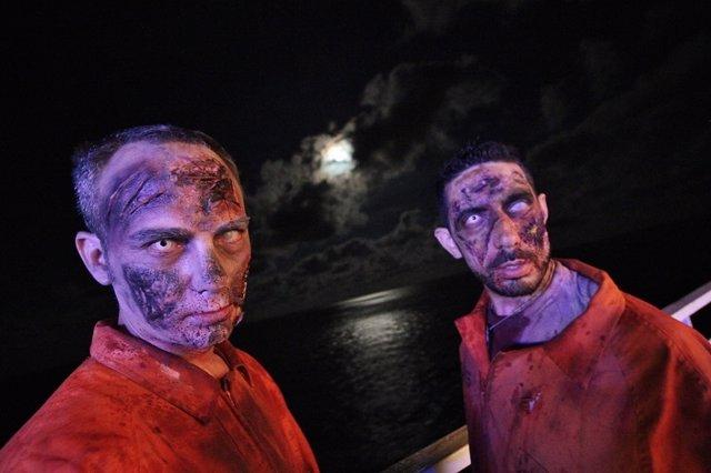Crucero Zombie 3, desde Valencia a Ibiza en un barco de Baleària