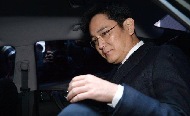 El heredero del Grupo Samsung, Lee Jae Yong