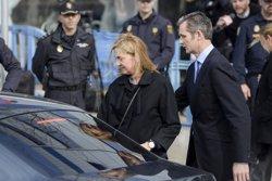La infanta Cristina responsable civil de 265.000 euros i Iñaki Urdangarin condemnat a 6 anys i 3 mesos (INFANTA CRISTINA E IÑAKI URDANGARIN/EUROPA PRESS)