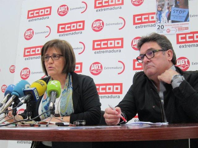 Patrocinio Sánchez y Julián Carretero