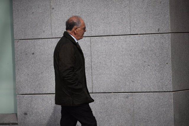 El excomisario Eugenio Pino llega a la Audiencia Nacional para declarar