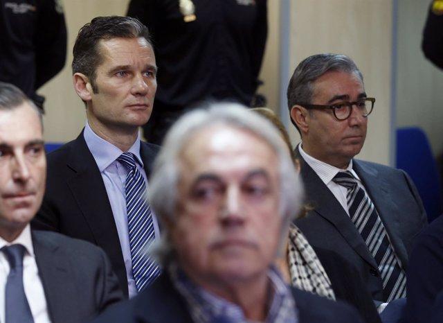 Iñaki Urdangarin y su socio, Diego Torres
