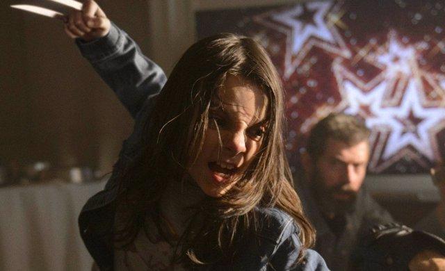 Dafne Keen como X-23 en Logan