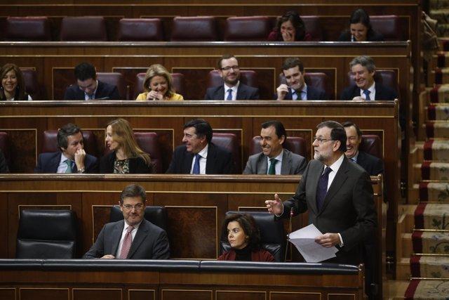 Rajoy en el Congreso de los Diputados