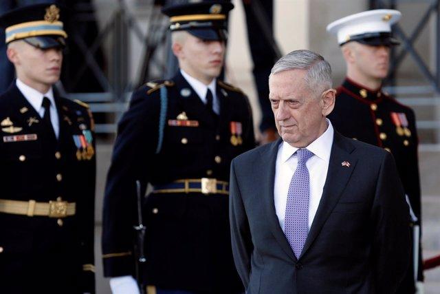 El secretario de Defensa estadounidense, James Mattis