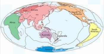 Geólogos ratifican la existencia de un continente sumergido en el Océano...