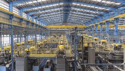 Matsa produce 483.106 toneladas de concentrado de mineral en 2016, un 42% más de la producción del año anterior