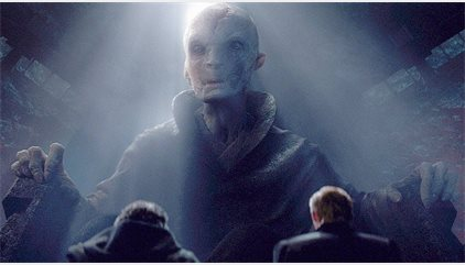 Star Wars 8: The Last Jedi ¿Será este extraño planeta la guarida secreta del Líder Supremo Snoke?