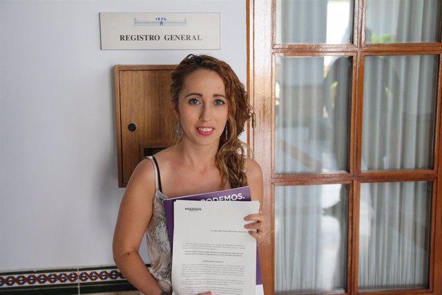 Mercedes Barranco registrando la PNL