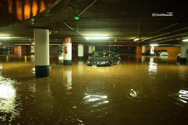 Inundaciones en Málaga.