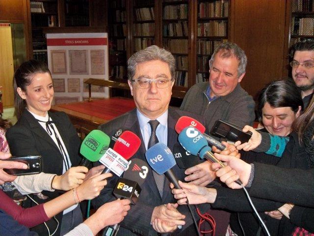 Delegado del Gobierno en Catalunya Enric Millo