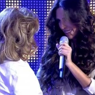 Foto: Mirela continua con su lucha por Eurovisión (TELECINCO)