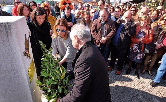 Homenaje víctimas terrorismo Santander