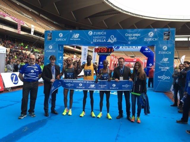 Erikus Titus Zurich Maratón Sevilla