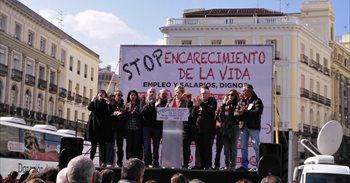 """Los sindicatos avisan de que """"seguirán saliendo a la calle"""" mientras..."""