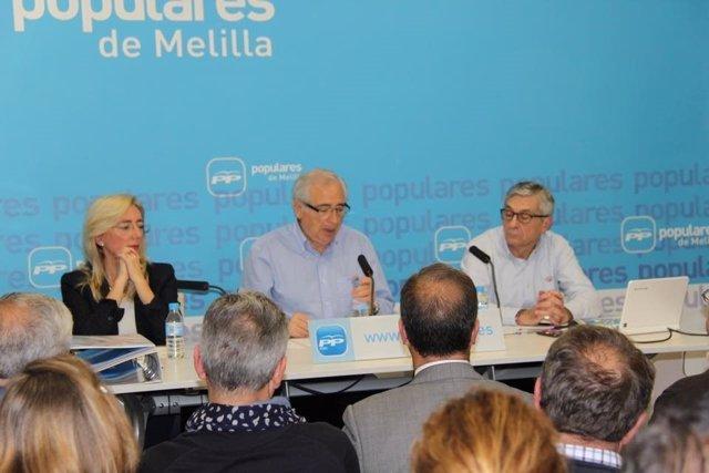Juan José Imbroda y Juan Díaz Morano competirán por liderar el PP de Melilla