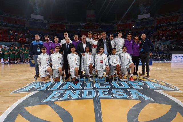 El Real Madrid gana la Minicopa