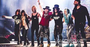 La lista para el sorteo de las entradas de Diputación para Guns n' Roses...