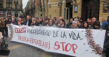 CCOO y UGT Euskadi piden derogar la reforma laboral y reclaman pensiones...