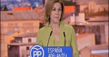 """Presidentes provinciales del PP C-LM escenifican el """"clamor"""" del partido..."""