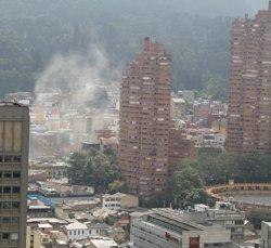 Dos dels policies ferits en l'atemptat de Bogotà es troben en estat crític (TWITTER / PLATAFORMA ALTO)