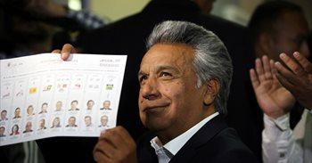 Las encuestas a pie de urna dan la victoria a Lenin Moreno, pero difieren...