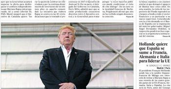 Las portadas de los periódicos de hoy, lunes 20 de febrero de 2017