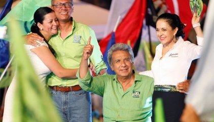 Moreno gana las elecciones en Ecuador y se disputará la Presidencia con Lasso en la segunda vuelta