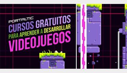 Cursos gratuitos para aprender a desarrollar videojuegos desde casa