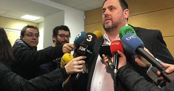"""Junqueras: el referéndum no es canjeable y """"nunca"""" se subordinará al..."""