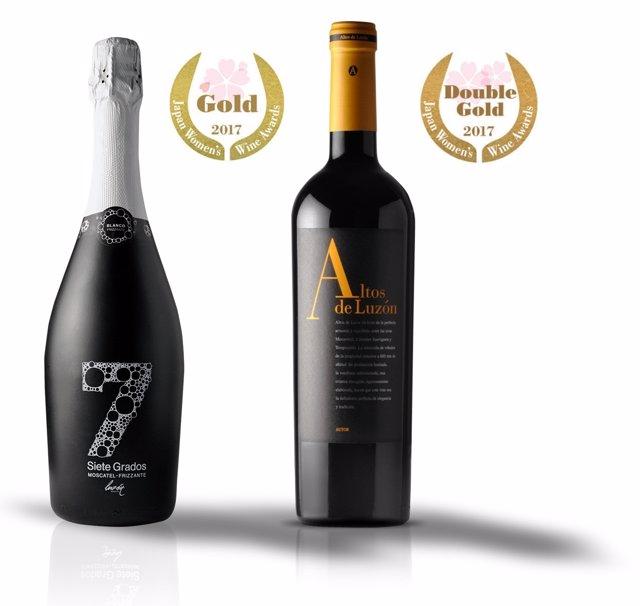 Imagen de los vinos premiados