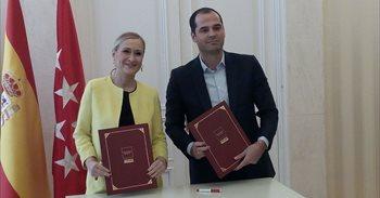La Comunidad de Madrid y Cs llegan a un acuerdo sobre los presupuestos de...