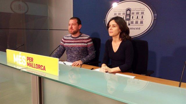 David Abril en rueda de prensa