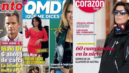 Todo sobre el caso Nóos, Ivonne Reyes vive su amor adolescente y Carolina de Mónaco en la nieve