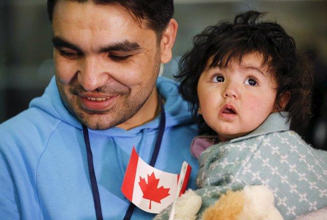Refugiados sirios en Canadá