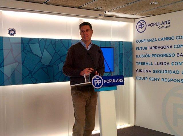 El coordinador general del PP catalán, Xavier García Albiol