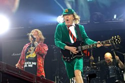¿Están Angus Young y Axl Rose trabajando en un nuevo disco de AC/DC? (IMAGO STOCK&PEOPLE)