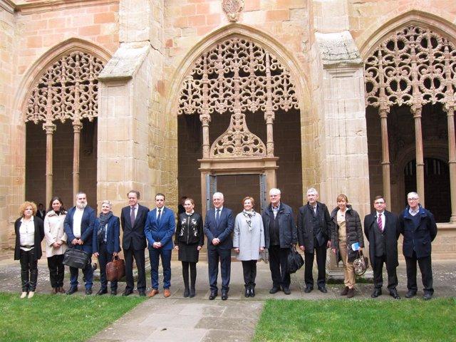 Reunión Patronato Santa María la Real
