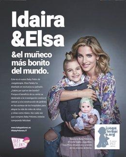 Juegaterapia nuevos 'Baby Pelones' pañuelos diseñados Elsa Pataky y Ricky Martin