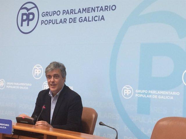 El diputado del PPdeG Pedro Puy