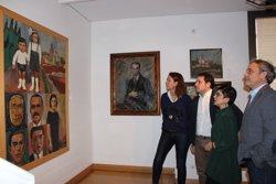 El Museu d'Història de Girona rep en donació un quadre d'Enric Marquès Ribalta (AYUNTAMIENTO DE GIRONA)