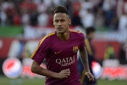 L'AN confirma el processament dels pares de Neymar, del Barça i del Santos pel fitxatge del jugador (EUROPAPRESS)
