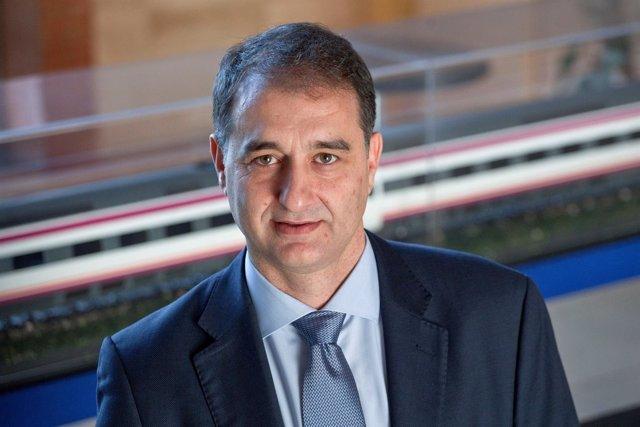 Miguel Ángel Martín, director de la planta de Alstom en Santa Perpètua
