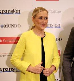 Cristina Cifuentes asiste a la clausura del III Foro Pensar (en) España