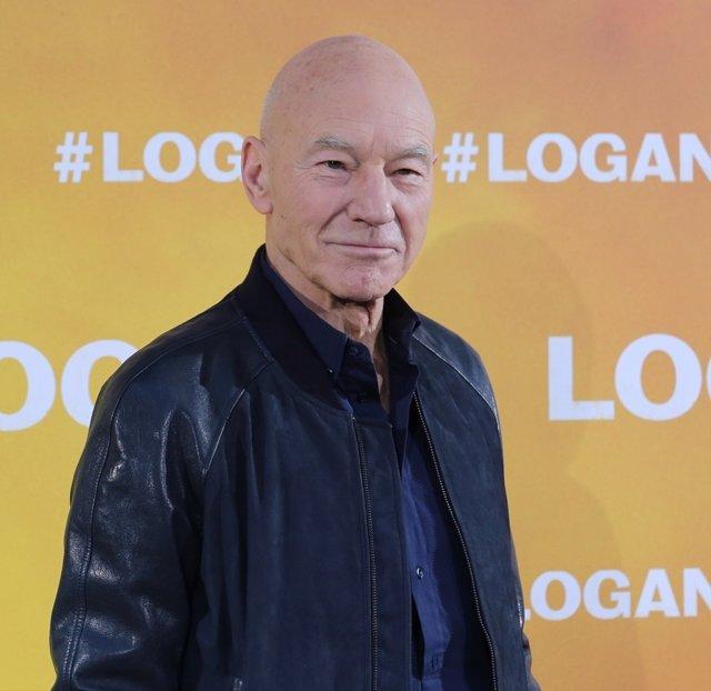 Photocall con Patrick Stewart por la película Logan