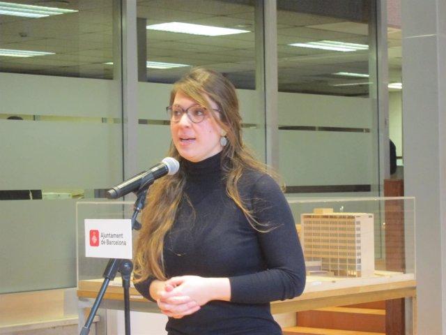 La t.De alcalde de Barcelona Janet Sanz