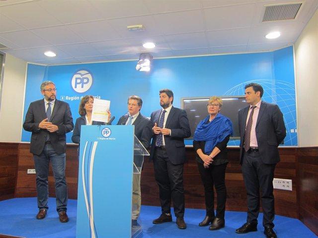 Martínez, González, Jódar, Miras, Pelegrín y Zamora