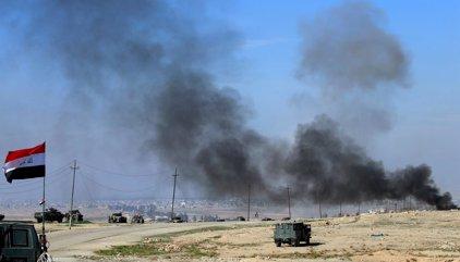 Dos civiles muertos al estrellarse varios drones del Estado Islámico en Mosul